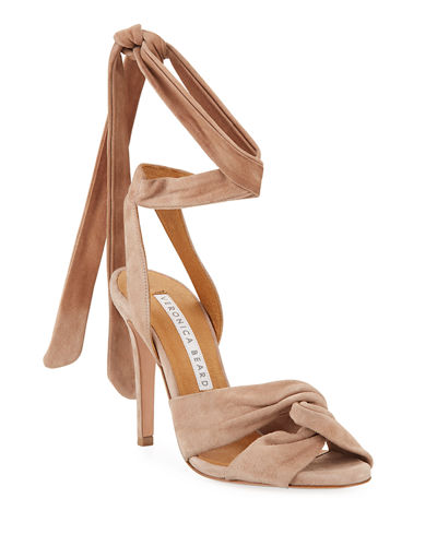 Calida Suede 100mm Sandals