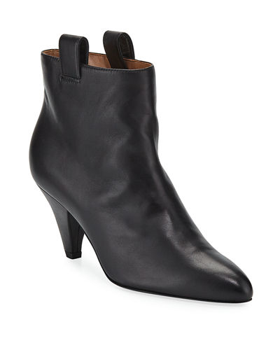 Terence Leather Ankle Booties