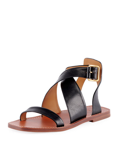 Chloe Virginia Flat Strappy Sandals