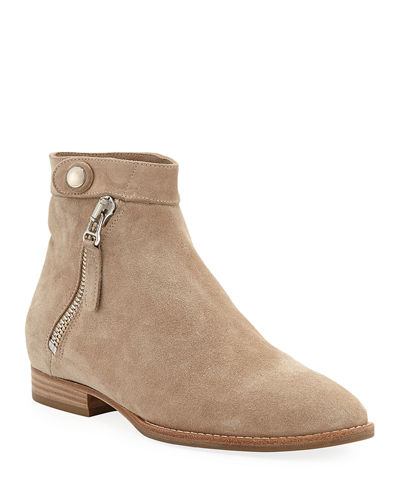 Rose 20mm Weatherproof Suede Booties