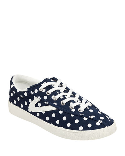 Nylite Plus Jacquard Low-Top Sneakers