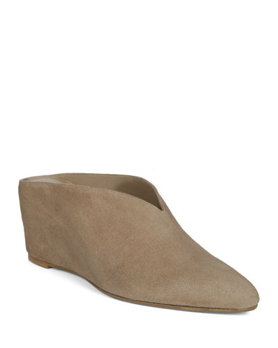 Kai Wedge Suede Mules