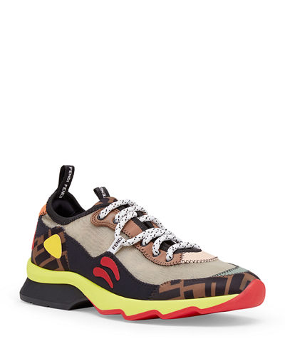 Freedom FF Patchwork Sneakers Quick Look. Fendi 91403748f6d7