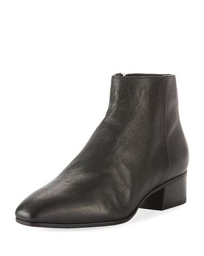 Aquatalia Fuoco Weatherproof Leather Ankle Boots