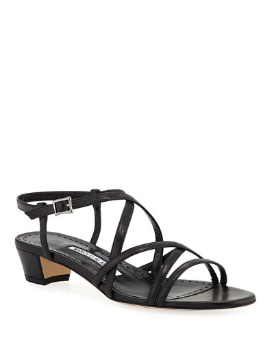 Lupita Strappy Leather Sandals
