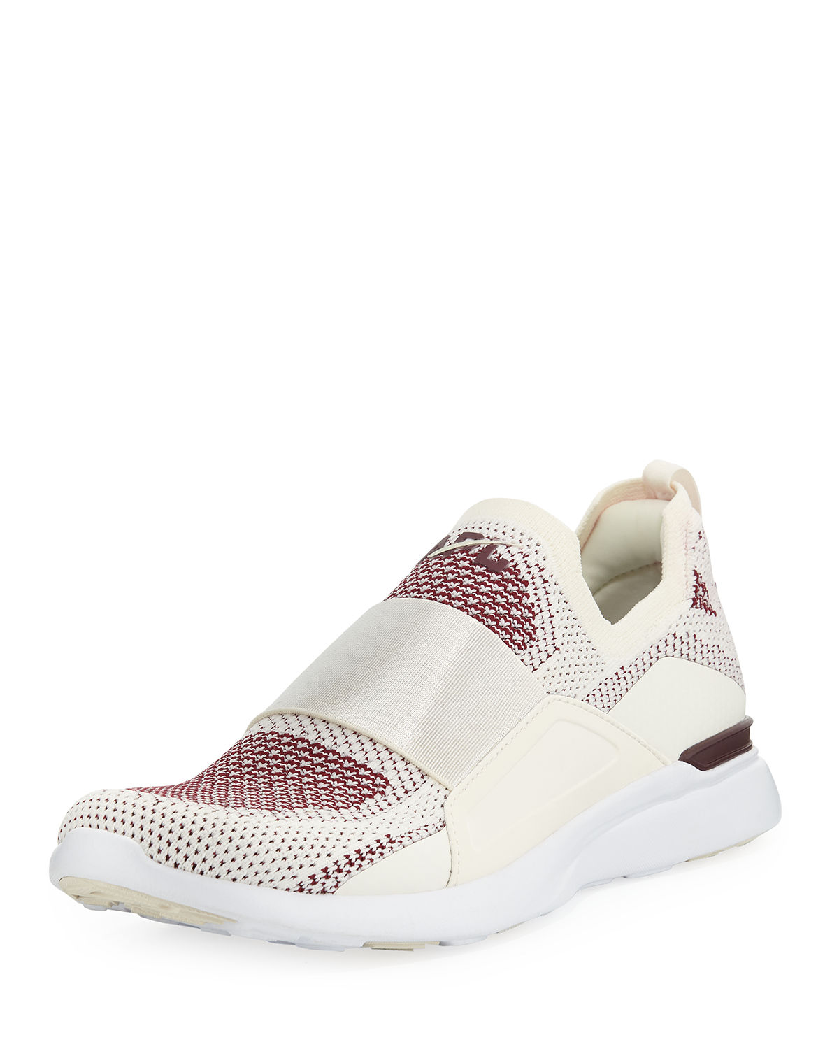 Apl Athletic Propulsion Labs TECHLOOM BLISS KNIT SLIP-ON RUNNING SNEAKERS