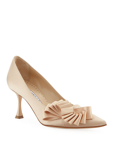 Josima 70mm Pumps With Ribbon