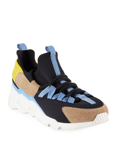 Trek Comet Neoprene/Leather Sneakers