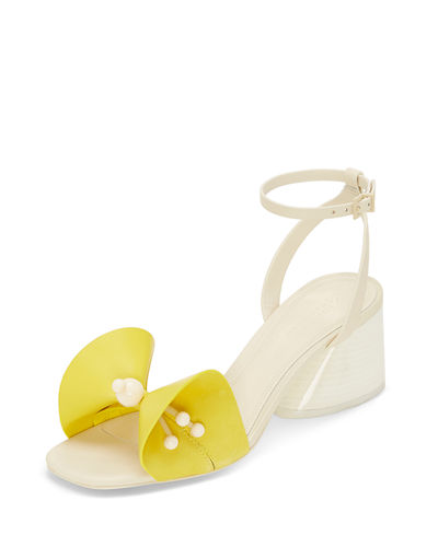 Tila Leather Bow Sandals