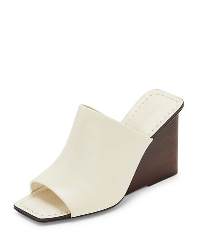 Leonor Wedge Slide Sandals