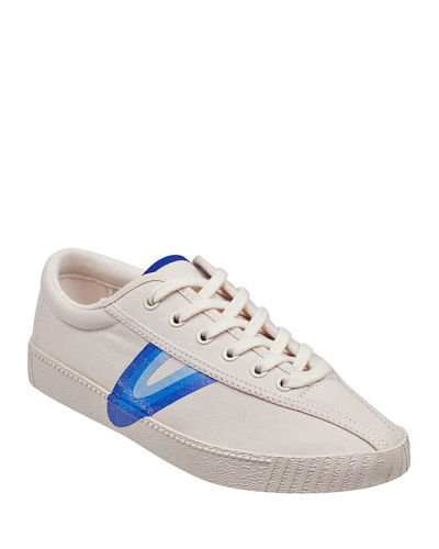 Nylite Lace-Up Canvas Sneakers