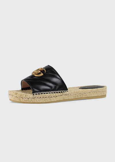 Pilar Espadrille Slide Sandals