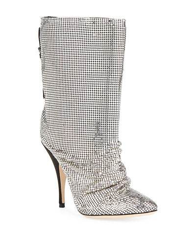 Chainmail Pointed Booties