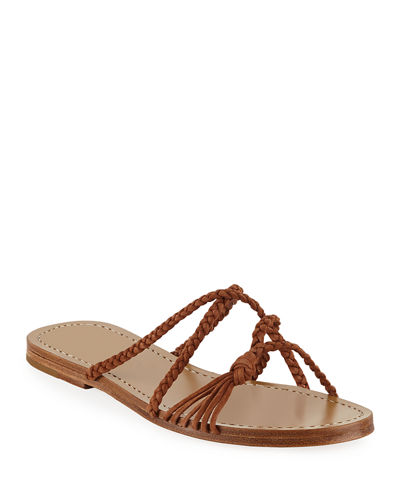 Brock Braided Suede Sandals