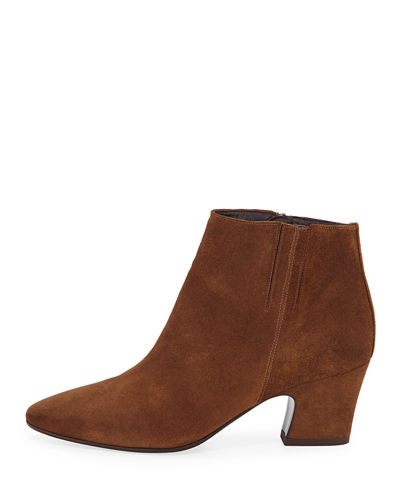 Orlina Suede Ankle Booties