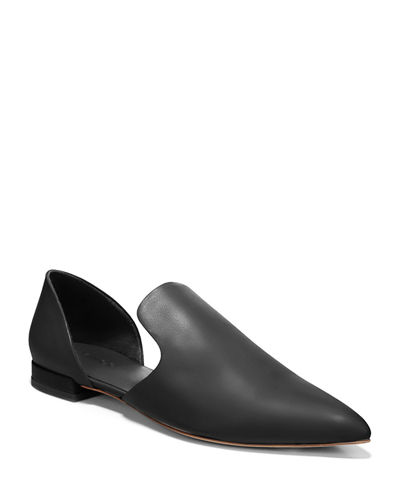 Damris Two-Piece Siviglia Leather Loafer Flat