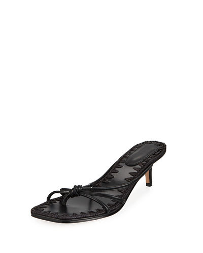 9335548831fdf Azeline Strappy Leather Thong Sandals