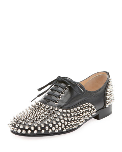 4db0fc87c2b Freddy Spikes Red Sole Saddle Oxford Shoes Quick Look. Christian Louboutin