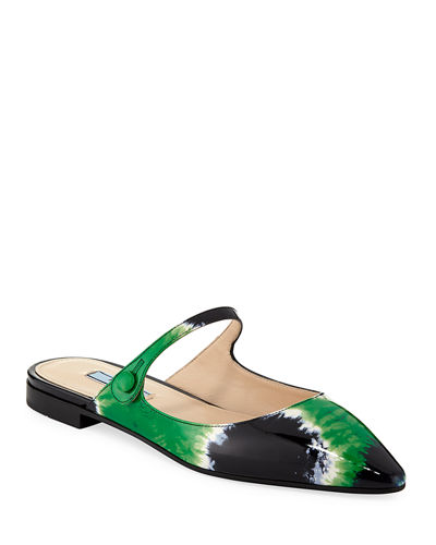 Prada Women s Shoes   Creepers   Slide Sandals at Bergdorf Goodman a6f6200b1