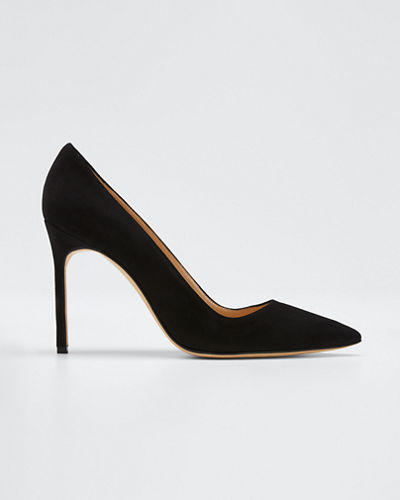 BB 105mm Suede Pumps