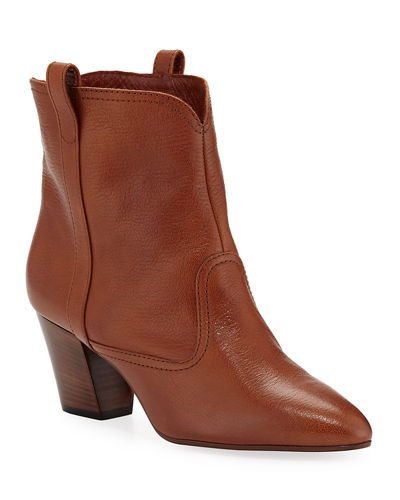 Sheryll Leather Western Booties