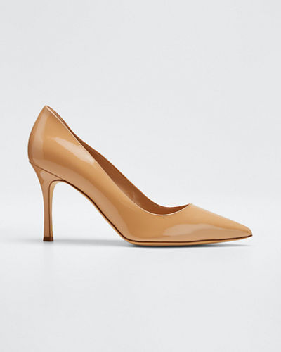 BB 90mm Patent Leather Pumps