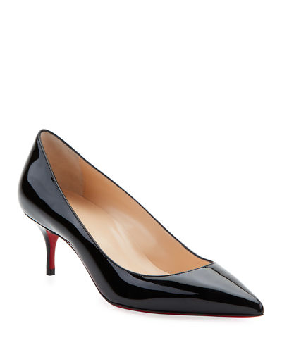 Kate Patent Red Sole Pumps