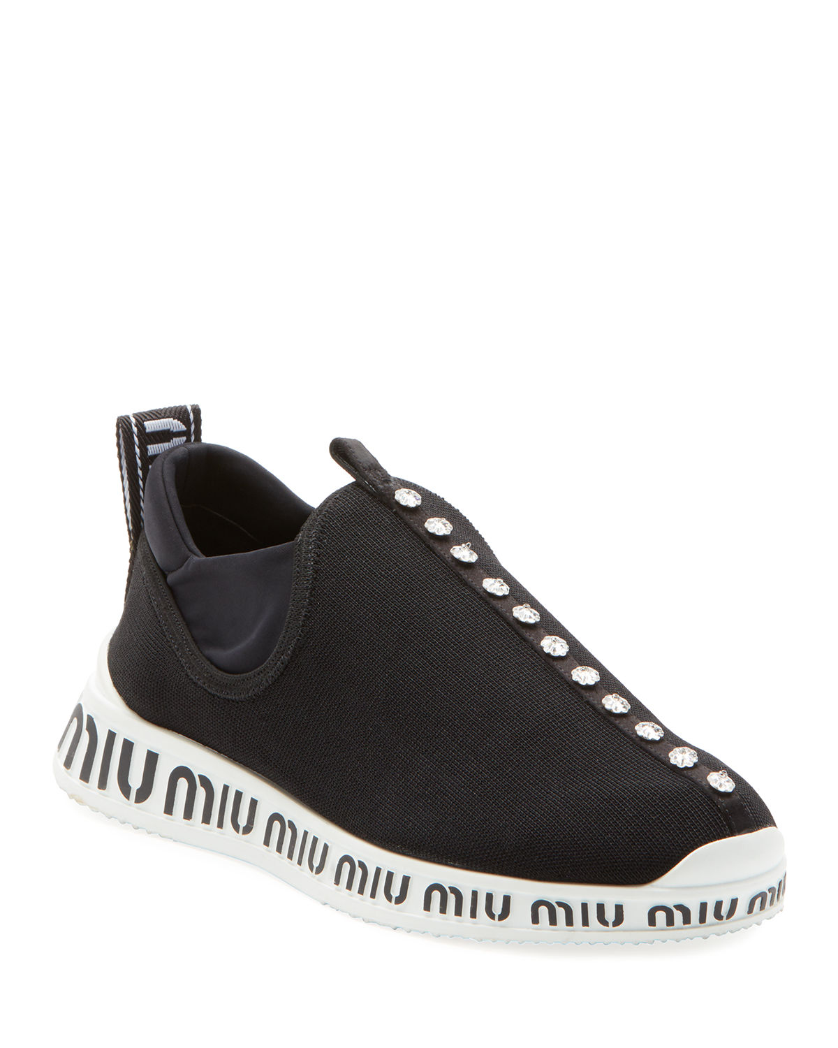 official photos 155ea ee654 Jeweled Slip-On Trainer Sneakers