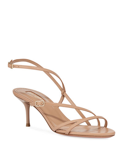 Carolyne Asymmetric Strappy Sandals