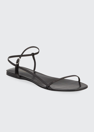 Bare Flat Strappy Sandals