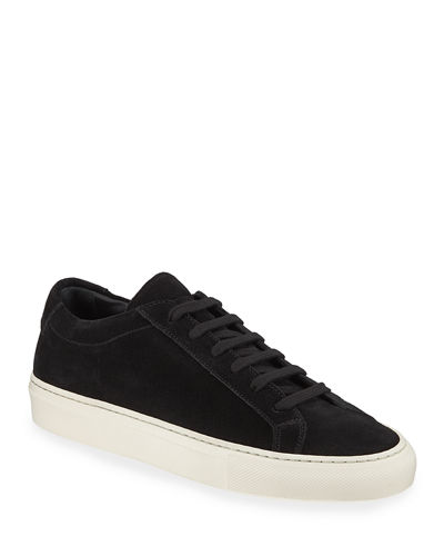 Achilles Low-Top Suede Sneaker