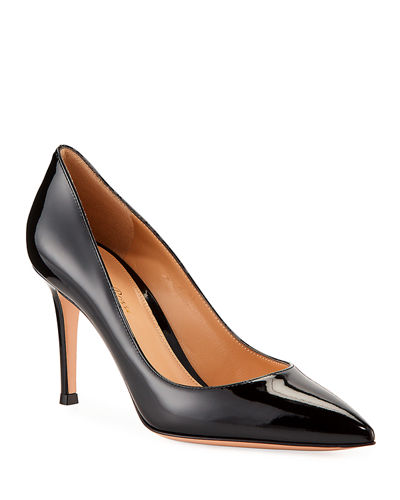 509c2ca5882a Gianvito 85 Patent Leather Point-Toe Pumps