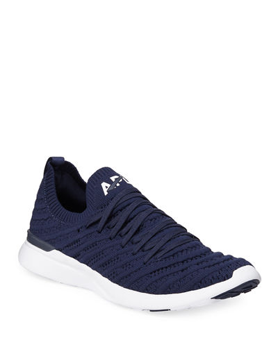 Techloom Wave Lace-Up Sneakers