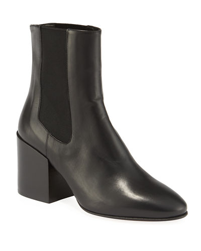 Napa Gored Leather Booties