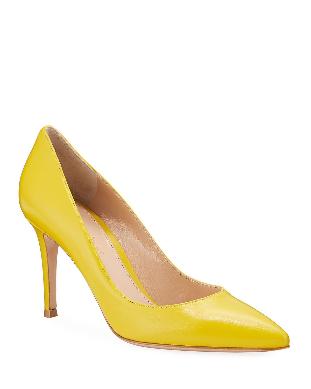 Gianvito Rossi High-heels NAPA GLOVE POINTED PUMPS