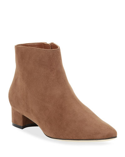 Crik Suede Ankle Booties