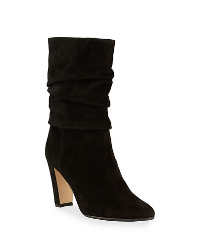 Shushan Crosta Slouchy Suede Boots