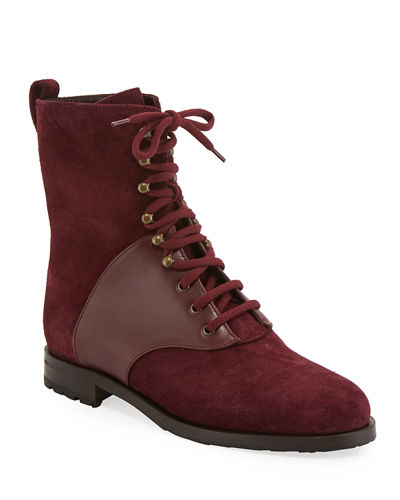 Pocola Suede and Leather Boots