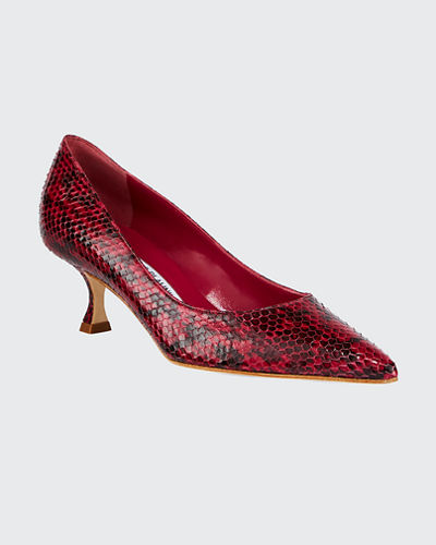 514d460c185c4 Maysale Suede Pointed-Toe Buckle Pumps. $795 · Srila Snakeskin Pumps Quick  Look. VIOLET. Manolo Blahnik