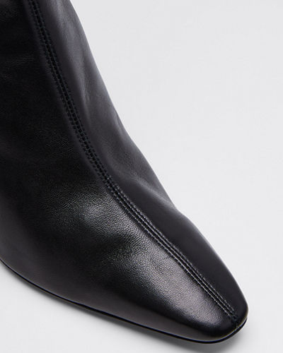Curzon Shiny Zip Booties