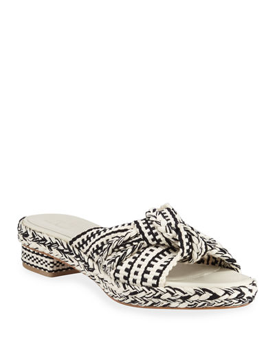 Bella Braided Slide Sandals