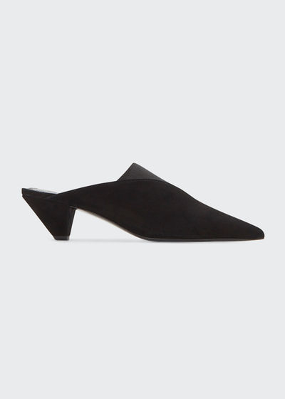 Joilette Suede Slide Pumps