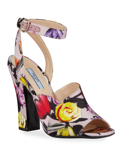 Duchesse Little Flowers Sandals