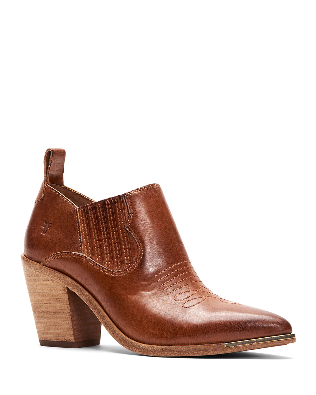 Frye Boots FAYE LEATHER ANKLE BOOTIES