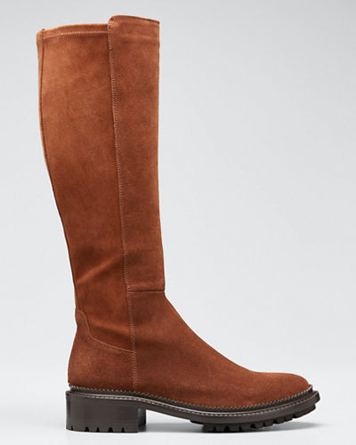 Oliviana Stretch-Suede Boots