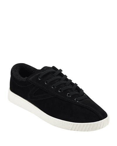 Nylite 35 Plus Low-Top Sneakers with Faux-Fur Lining