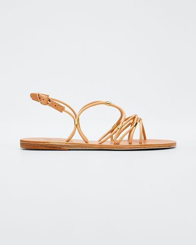 Pasifai Leather Strappy Sandals