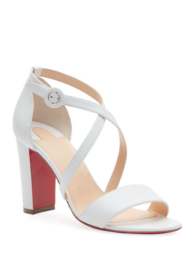 Loubi Bee 85 Red Sole Sandals