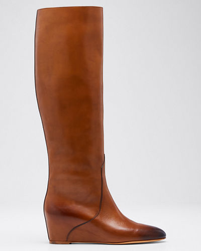 Gustave Low-Wedge Knee Boots