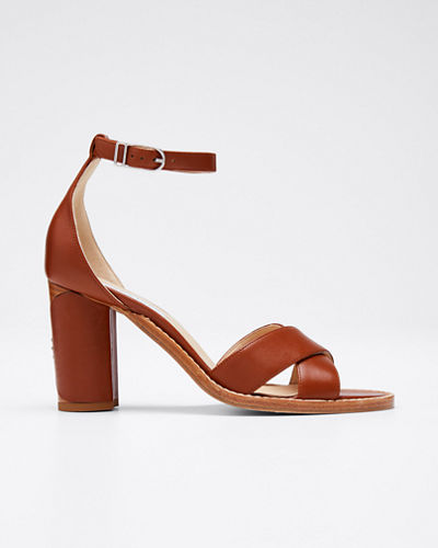 John Leather Ankle Sandals